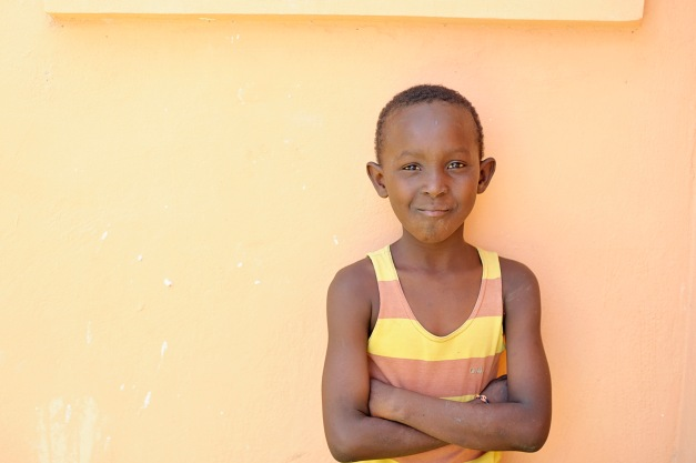 Fritz-Gerald will get to go to school this year. . . God provided through a generous sponsor!