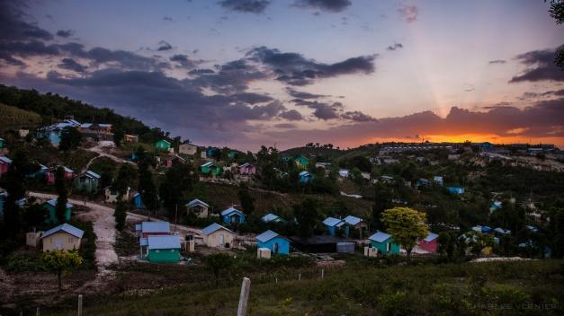 Haiti Village sunset-7657